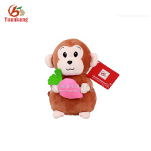 20CM brown chinese new year 2016 monkey plush toy