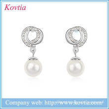 Perle pendentif boucles d'oreille boucles d'oreille en cristal accessoires faits à la main