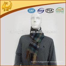Promotional Custom Design Woven 100% Cashmere Men Scarves