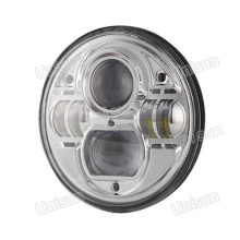 "7"" 73W Auto LED H4 Sealed Beam Headlight"