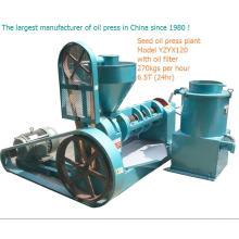 Machine de traitement de grain et d'huile / machine d'extraction de presse d'huile