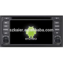 Estéreo constante del coche de android 4.1 de la venta caliente para Toyota ETIOS con GPS / Bluetooth / TV / 3G / WIFI