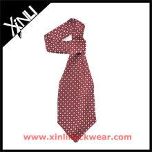 Corbata personalizada Ascot de poliéster de sublimación