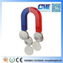 Hufeisen-Magnet für Bildung