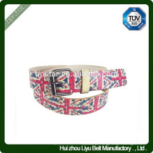 American Style Printed Embossed Wide Fashion Pin Buckle Belt / cinto de couro para homens