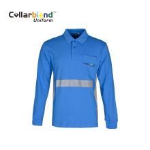 Coolmax Reflective Safety Polo Hi Vis Work Shirt