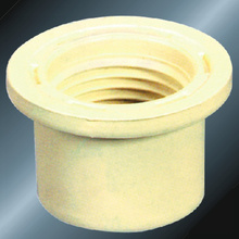 DIN PN16 Water Supply Cpvc Thread Reducer Grey