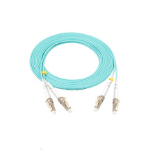 Corde de correction optique duplex de fibre de LC
