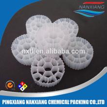 Mídia de suporte de biofilme plástico MBBR para Fish pond filter