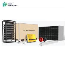 Sistema de energía solar híbrido de 5KW