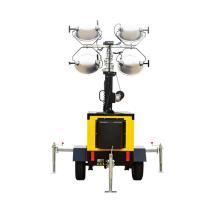 Silent Diesel Generator Mobiles Metallhalogenid-Turmlicht