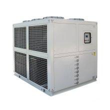 Enfriador refrigerado por aire del agua del tornillo para la máquina plástica