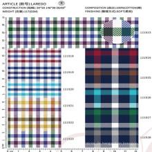 hochwertiges 100% Baumwollgewebe Textil für Herrenhemd