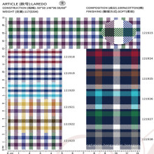 high quality 100% cotton fabric textile for men's dress shirt
