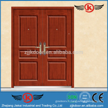 JK-AF9003 Façades doubles en fer mexicaines Double portes