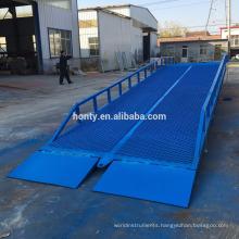forklift steel mobile loading dock ramp/truck unloading ramps