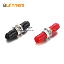 Adaptador de brida de fibra óptica simplex APC