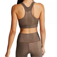 Logo Customized Two Piece Sublimation Print women fitness yoga workout gym set