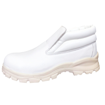 Factory Wholesale Anti Silp Genuine Leather Professional Chef Safety Kitchen Shoes