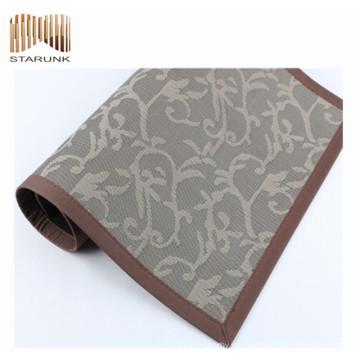 esteras de piso tejidas cocina durable antideslizante del vinilo al por mayor para el hogar