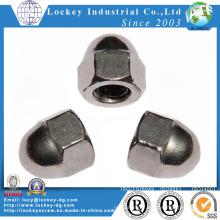 Écrou hexagonal en acier inoxydable et acier