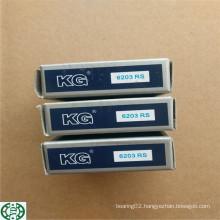 6203 6203zz 6203RS Deep Groove Ball Bearing Kg Brand 6203-2RS