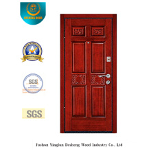 European Style Single Security Door with Simplified Carving (L2-1007)