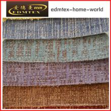 Tecido liso do Chenille para a embalagem do sofá em rolos (EDM0203)