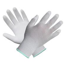 Polyester Liner Knit Wrist Gant en caoutchouc PU avec Ce
