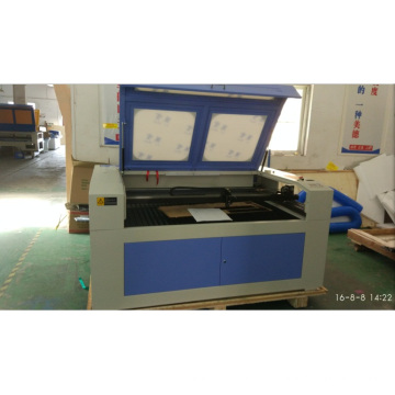 Поставка завода CO2 стеклянной трубки лазерной резки машина (GS1610) с высокой скоростью