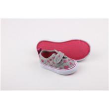 Chaussures de toile pour enfants avec du ruban magique (SNK-241591)