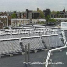 Flate Platte Sonnenkollektor