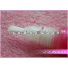 Cosmetic tube with brush head