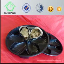Blister termoformado al por mayor de la venta al por mayor global de China Embalaje negro del envase de la ostra de los PP con estándar de calidad exportador
