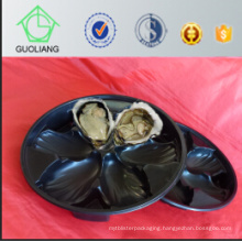 Hot Selling China Global Wholesale Thermoformed Blister Packaging Black PP Oyster Plastic Container with Exporting Quality Standard