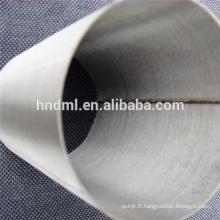 25 microns Cinq couches de treillis métallique en acier inoxydable tissé fritté