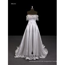 2017 Neuer Entwurf Guangzhou-Lieferant elegantes Abendkleid lang mit off-Schulter