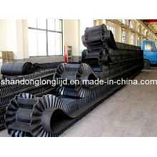 Rubber Polyester/Ep Corrugate Sidewall Conveyor Belt