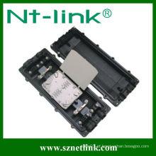 Fechamento de emenda de fibra óptica horizontal de 144 pinos