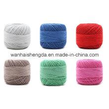 Motif teint en fil de coton mélangé de bambou
