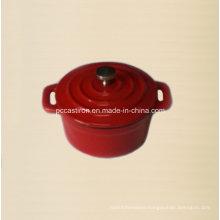 Enamel Cast Iron Mini Casserole Dia 10cm