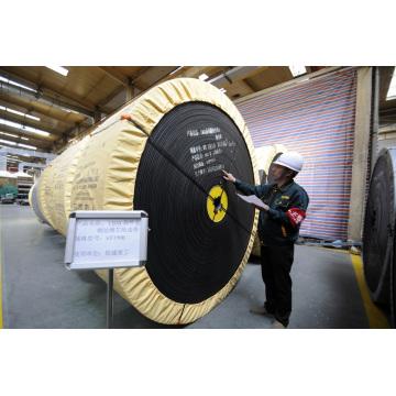 ST Correa transportadora de cable de acero