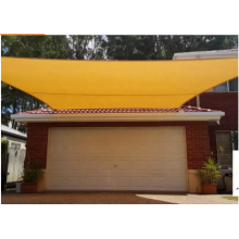 Hijau HDPE Knitted Shade Sail UV