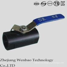 NPT Guang Tipo Válvula de bola flotante de acero al carbono Monolock