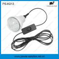 Panel solar 4W Panel solar 3PCS 1W SMD LED Kit solar con función de cargador de teléfono (PS-K013)