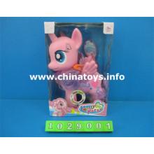 Animal Plastic High Quality Horse Toy con Música (1029001)