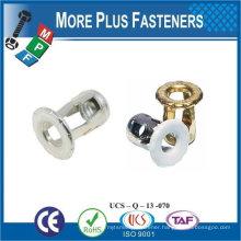 Made in Taiwan Screw Blind #6-32 Thread Well Nut .468 Head Diameter