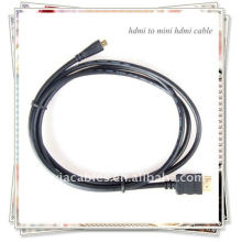 BRAND NEW PREMIUM Черный HDMI для Mini HDMI Type C Мужской кабель для HDTV DV 1080p