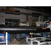 Linha de extrusão de tubos de isolação térmica HDPE grande calibre Lsg-1200