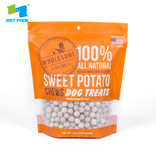 Plastic Stand Up Pouch For Dog Food